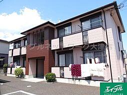 滋賀県大津市下阪本3丁目の賃貸アパートの外観