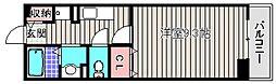 ブローテ三国ヶ丘[1階]の間取り