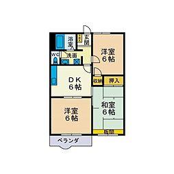 アイビーセフィラ三田弐番館[1階]の間取り