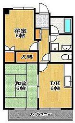 メゾン竹内[2階]の間取り