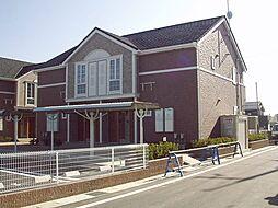 滋賀県東近江市林町の賃貸アパートの外観
