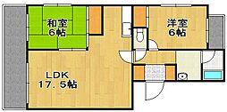 O・C・アパルタメント[4階]の間取り