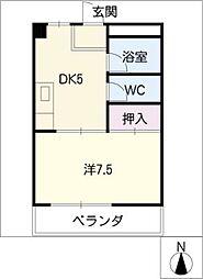 AdvanceOcean101[2階]の間取り