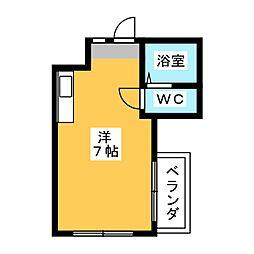 オラシオン人宿II[2階]の間取り
