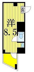 ブロッサム今宮[305号室]の間取り