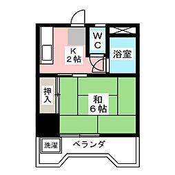 シティビル大曽根 −21−[2階]の間取り