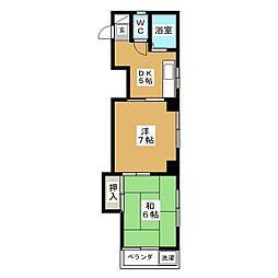 城ビル[3階]の間取り