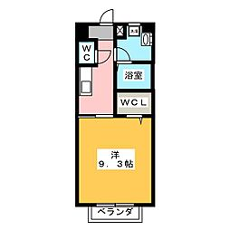 エパル和田[1階]の間取り