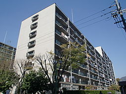山科南団地F棟[6階]の外観