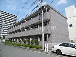 東京都昭島市松原町1丁目の賃貸マンションの外観