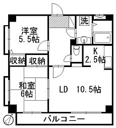 シルクロードハイツ[1階]の間取り
