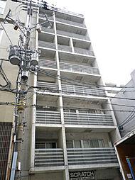 大阪府大阪市西区北堀江2丁目の賃貸マンションの外観