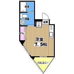 西澤ビル[3階]の間取り