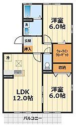 コンチェルト3[3階]の間取り