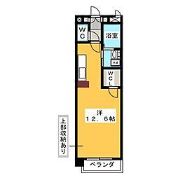 エクセラ桜山[6階]の間取り