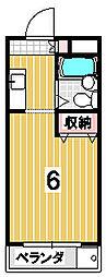 コーポ澤村[306号室]の間取り