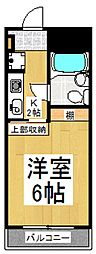 キャッスル萩山[3階]の間取り