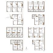 事業用参考プラン 建物面積:493(地下面積含む)