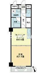 ライオンズマンション岡山医大南第2[4階]の間取り