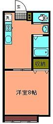 アーバンテイー本荘202棟[207号室]の間取り