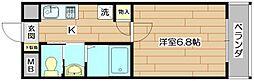 エスト茨木[2階]の間取り