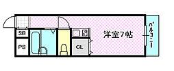 K's ROYAL[3階]の間取り