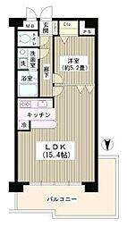 コアシティ中野坂上[01001号室]の間取り