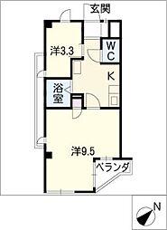 KANOKO 21[3階]の間取り