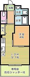 Espoir(エスポワール)[103号室]の間取り
