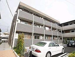 東京都足立区加賀2丁目の賃貸アパートの外観