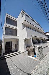 東京都北区西ケ原1丁目の賃貸アパートの外観