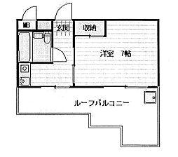 東京都練馬区練馬3丁目の賃貸マンションの間取り