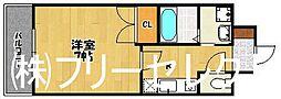 大三祇園ビル[5階]の間取り