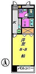 都町小川マンション[2階]の間取り