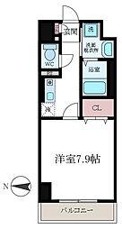 ティーズマンション[503号室]の間取り