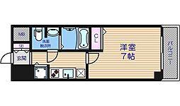 S-RESIDENCE難波Briller[8階]の間取り
