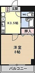 メゾンYOU&I[302号室号室]の間取り
