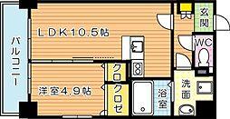 グランハイアット[7階]の間取り