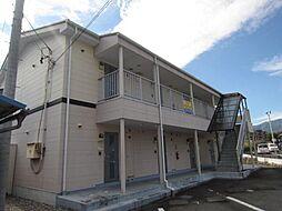 長野県飯田市鼎下山の賃貸アパートの外観