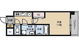 アーバンフラッツ新大阪1[7階]の間取り