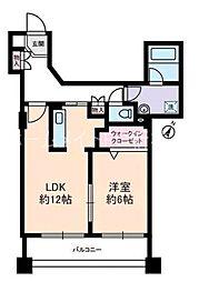 サングランパ[9階]の間取り