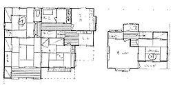 中今泉4丁目 一戸建 定期借家2026年3月まで 2階5Kの間取り
