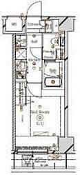 ラフィスタ川崎III[2階]の間取り