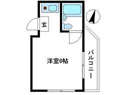 メゾン・ド・マルス[3階]の間取り