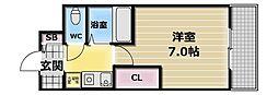 グランドオーク高井田[6階]の間取り