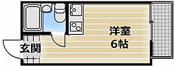 ライラック小阪[5階]の間取り