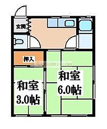 蔵前町文化G棟[2階]の間取り