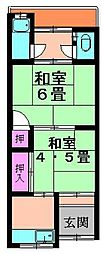 [テラスハウス] 大阪府寝屋川市萱島東2丁目 の賃貸【/】の間取り