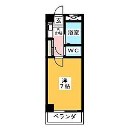 SAKURADAハウス[4階]の間取り
