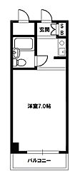 新大阪ハイグレードコーポ[3階]の間取り